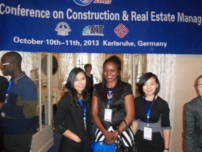 Construction Economics PhD student attended ICCREM Conference 2013
