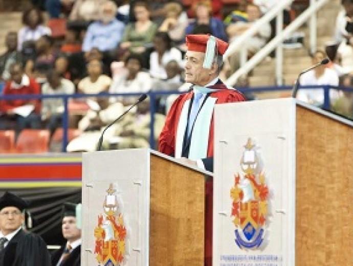 Renowned engineer honoured at University of Pretoria