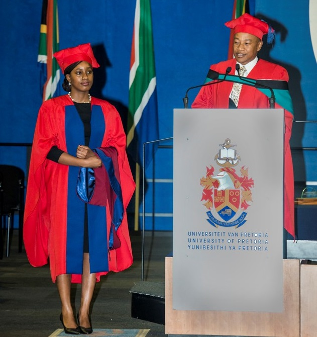 A First As GIBS Graduate Celebrates PhD In Her Mother Tongue
