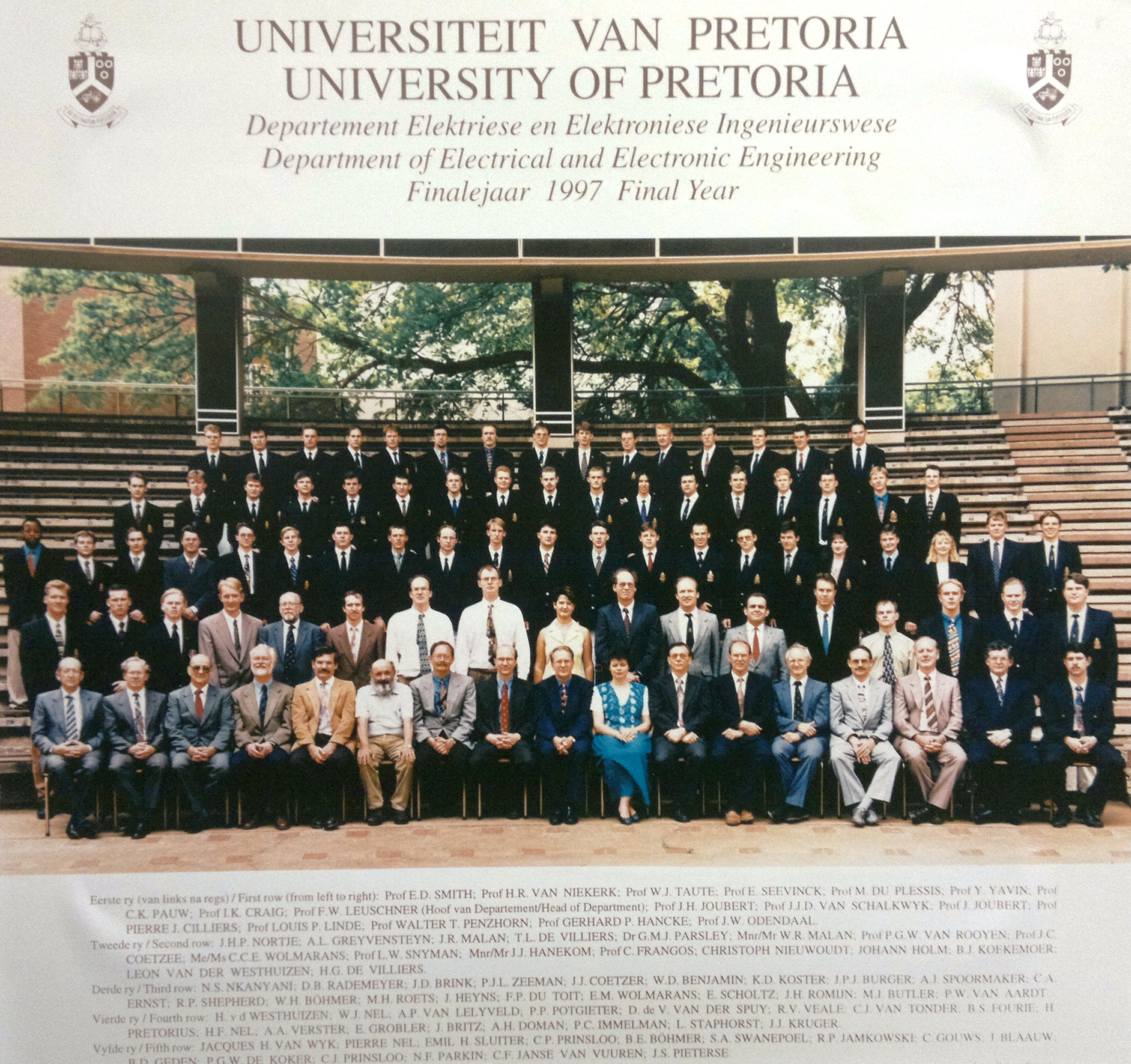 University Of Pretoria Faculty Of Natural And Agricultural Sciences Yearbook