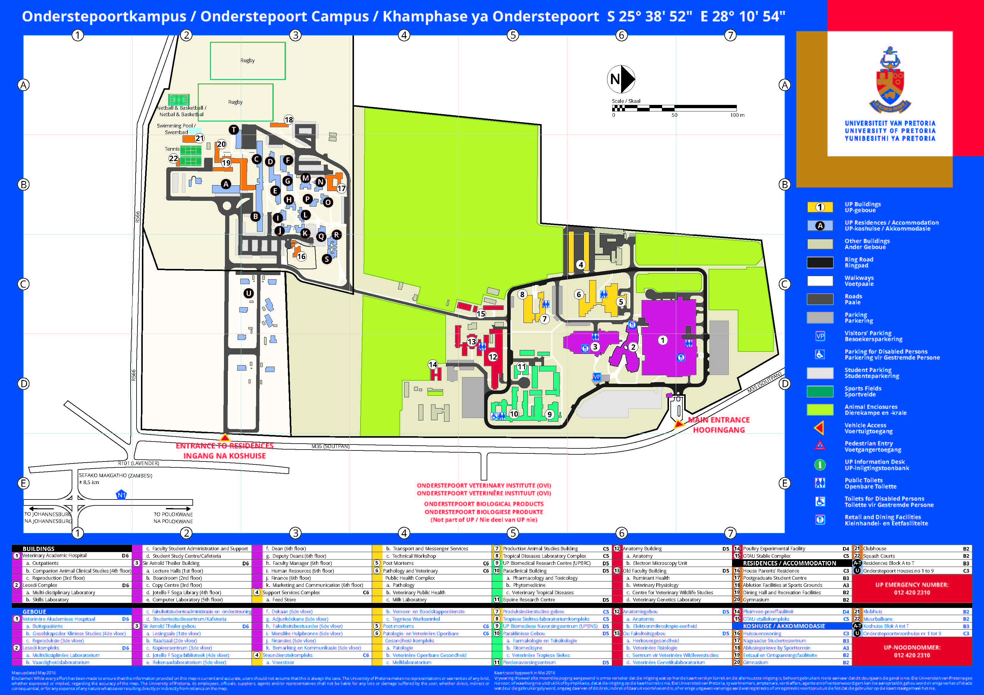 Map Up.Campus Map