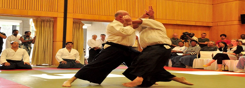 AIKIDO literally means The Way of Harmony