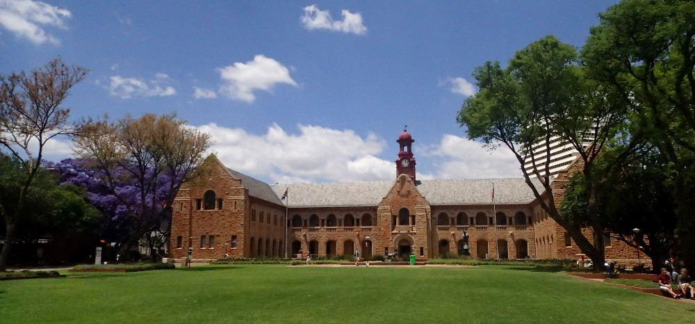 The Old Arts Building at the University of Pretoria