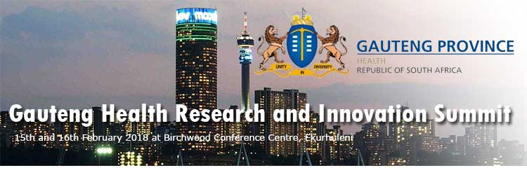 Gauteng Health Research and Innovation Summit