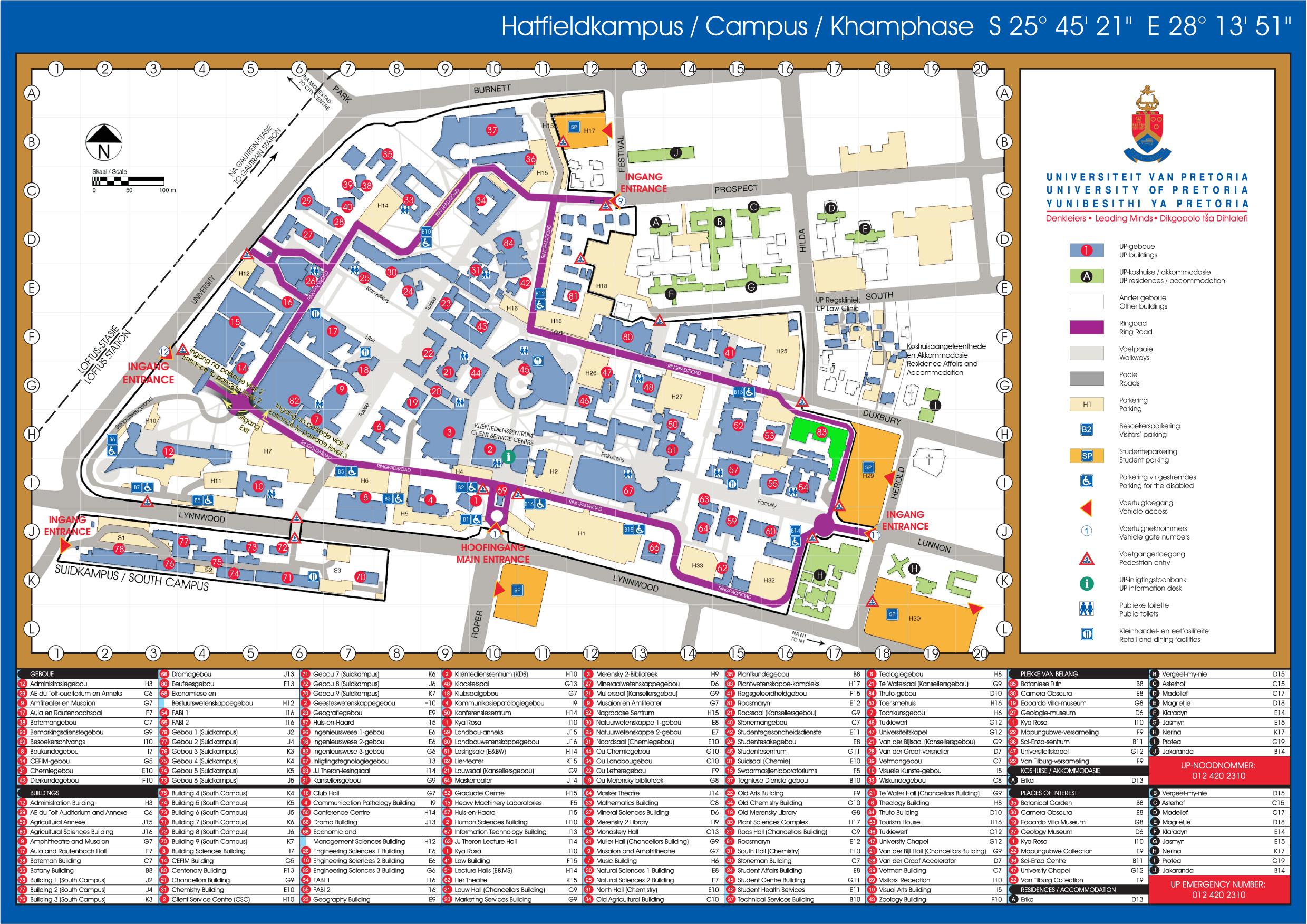 university of pretoria campus map Contact Us Article University Of Pretoria university of pretoria campus map