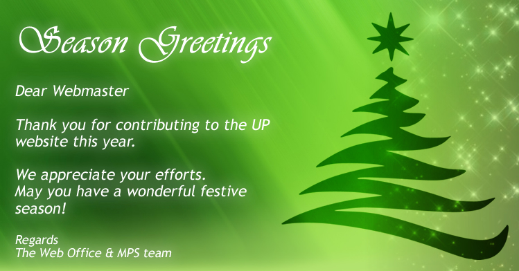 Season greetings from the web office share this page m4hsunfo