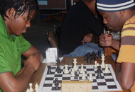 Chess at Sci-Enza
