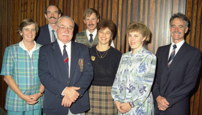 Curators from 1977 to 1997