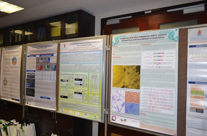 The GRI hosts an annual symposium day for young researchers to showcase their work